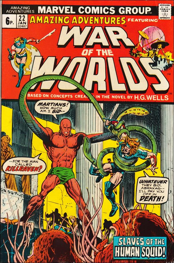 Amazing Adventures (1970) 22-B by Marvel