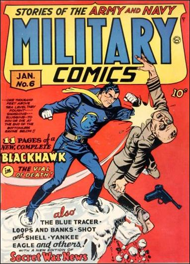 Military Comics 6-A by Comic Magazines