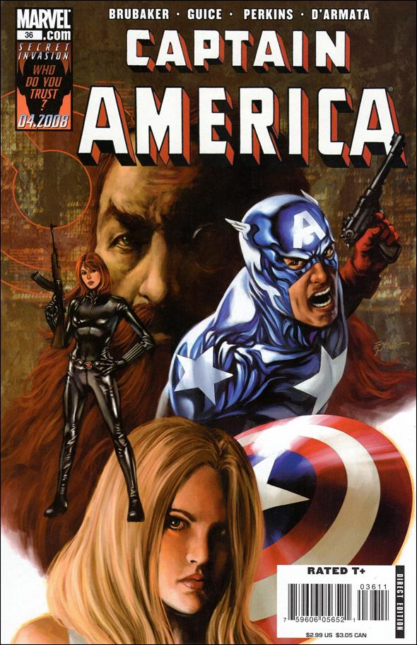 Captain America (2005) 36-A by Marvel