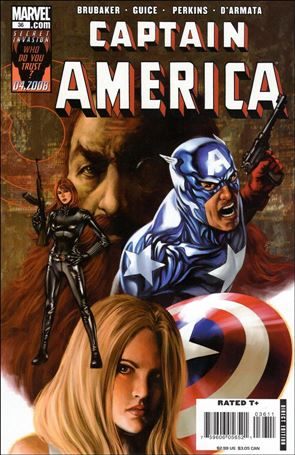 Captain America (2005) 36-A