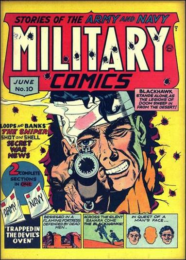 Military Comics 10-A by Comic Magazines