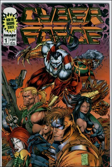 Cyberforce (1993) 1-C by Image