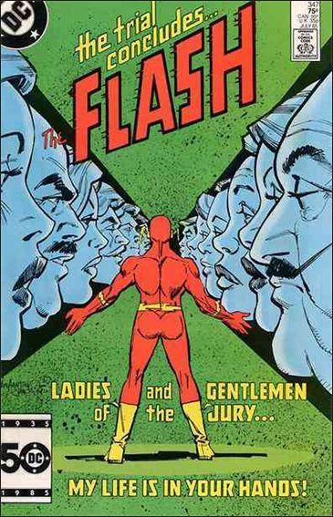 Flash (1959) 347-A by DC