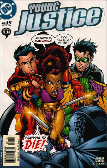 Young Justice (1998) 49-A by DC