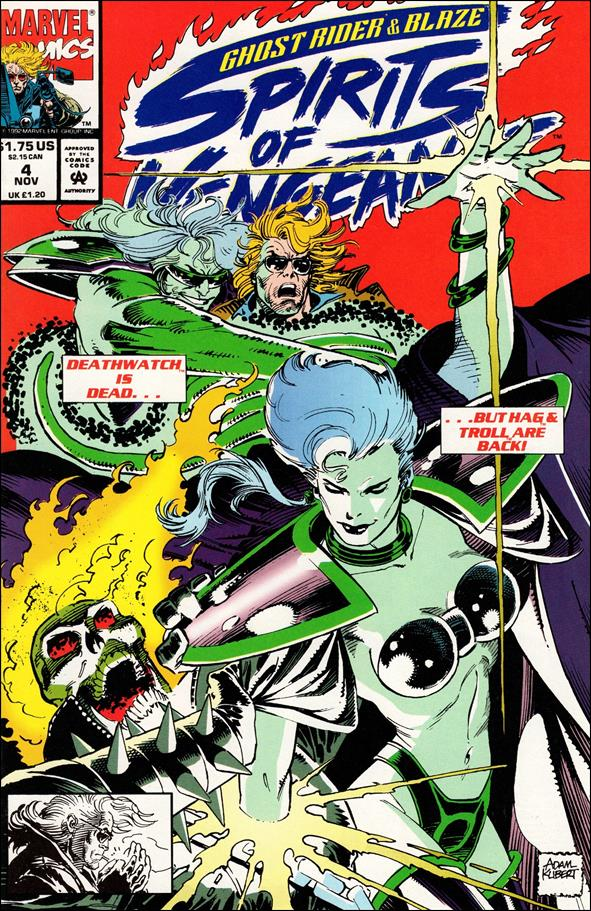 Ghost Rider/Blaze: Spirits of Vengeance 4-A by Marvel