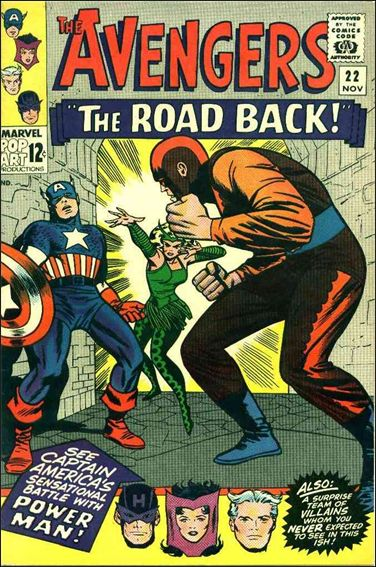 Avengers (1963) 22-A by Marvel