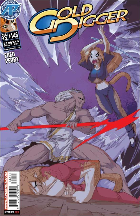 Gold Digger (1999) 146-A by Antarctic Press