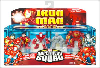 2008 Hasbro Iron Man Marvel Super Hero Squad Figure Iron Monger