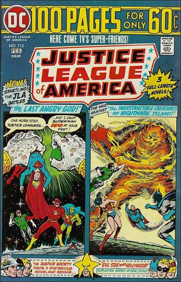 Justice League of America (1960) 115-A by DC
