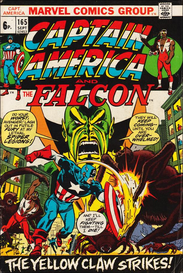 Captain America (1968) 165-B by Marvel