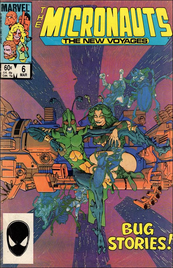 Micronauts (1984) 6-A by Marvel
