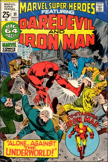 Marvel Super-Heroes (1967) 31-A by Marvel