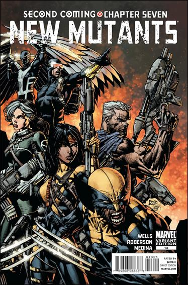 New Mutants (2009) 13-C by Marvel