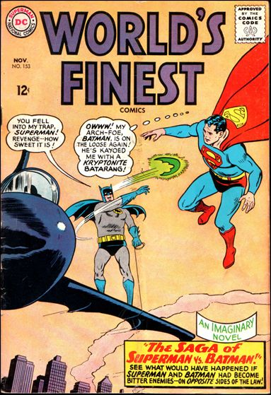 World's Finest Comics 153-A by DC