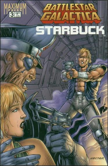 Battlestar Galactica: Starbuck (1995) 3-A by Maximum Press