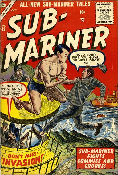 Sub-Mariner (1941) 42-A by Atlas