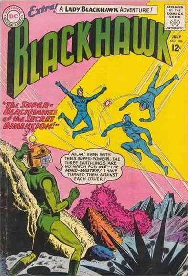 Blackhawk (1944) 186-A by DC