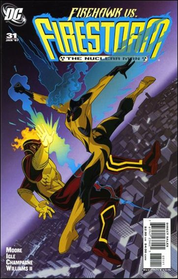 Firestorm: The Nuclear Man (2006) 31-A by DC