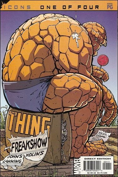 Thing: Freakshow 1-A by Marvel