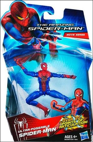 Amazing Spider-Man (2012) Ultra-Poseable Spider-Man (Movie Series)