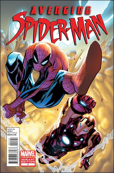 Avenging Spider-Man 1-D by Marvel