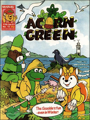 Acorn Green 15-A by Marvel UK