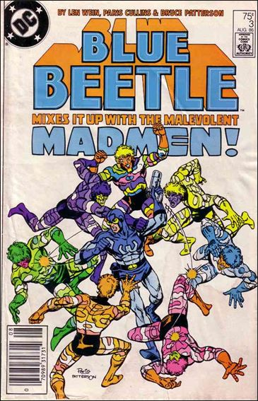Blue Beetle (1986) 3-A by DC