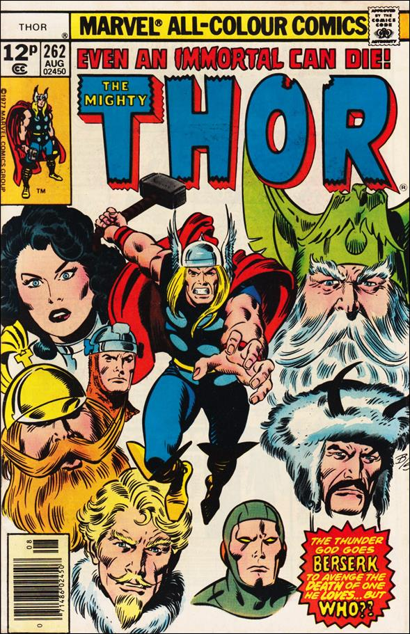 Thor (1966) 262-C by Marvel