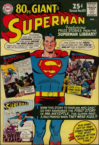 Superman (1939) 183-A by DC