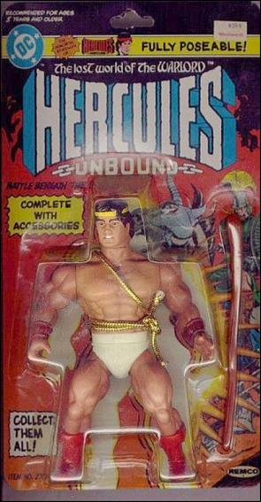 Lost World of the Warlord Hercules by Remco