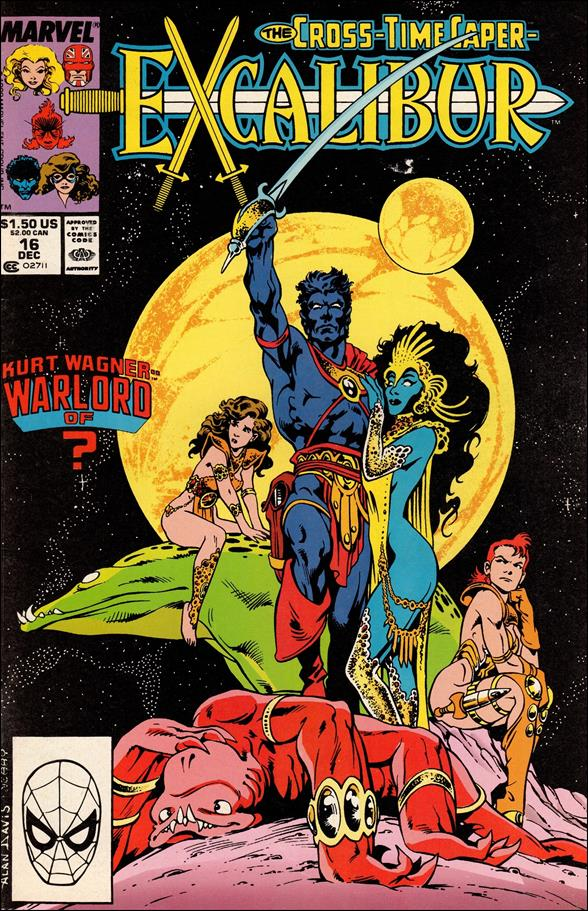 Excalibur (1988) 16-A by Marvel