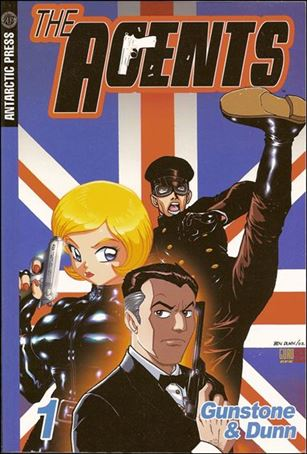 Agents Pocket Manga 1-A