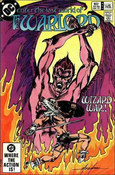 Warlord (1976) 66-A by DC