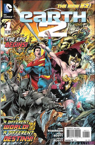 Earth 2 1-A by DC