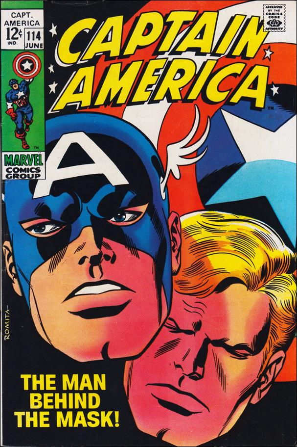 Captain America (1968) 114-A by Marvel