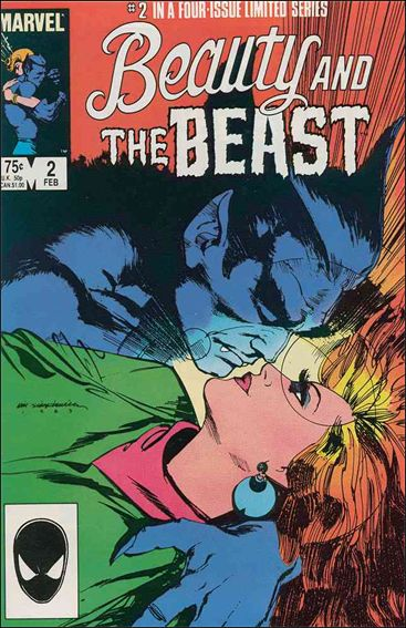 Beauty and the Beast (1984) 2-A by Marvel