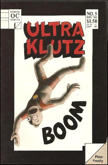 Ultra Klutz (1986) 5-A by Onward Comics