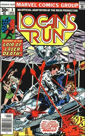 Logan's Run (1977) 3-A by Marvel