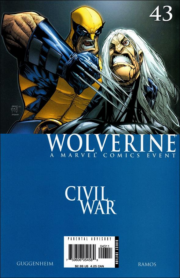 Wolverine (2003)  43-A by Marvel