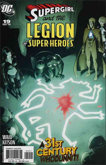 Supergirl and the Legion of Super-Heroes 19-A by DC