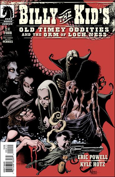 Billy the Kid's Old Timey Oddities and The Orm of Loch Ness 2-A by Dark Horse