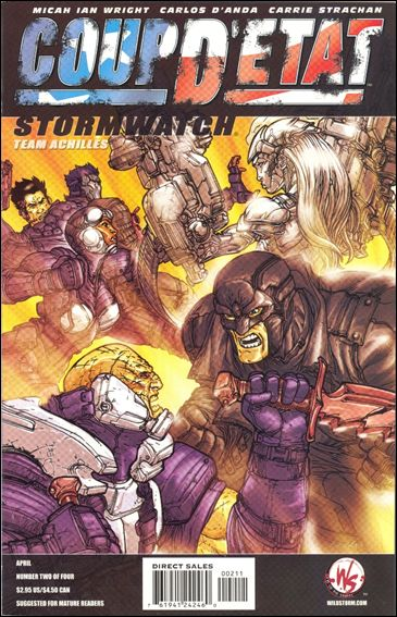 Coup D'Etat: StormWatch 1-A by WildStorm