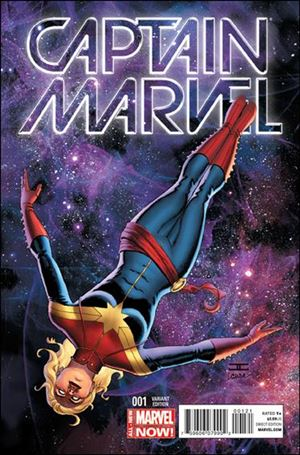 Captain Marvel (2014) 1-B
