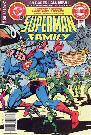 Superman Family 194-A by DC