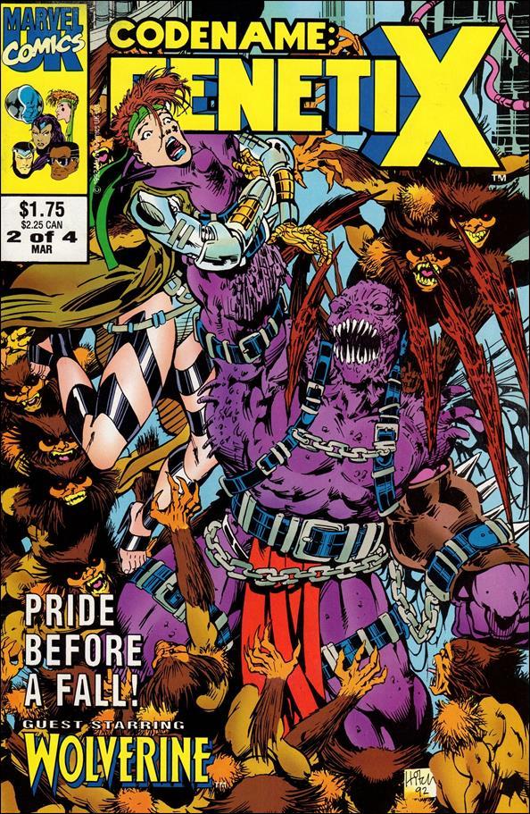 Codename: Genetix (UK) 2-A by Marvel UK