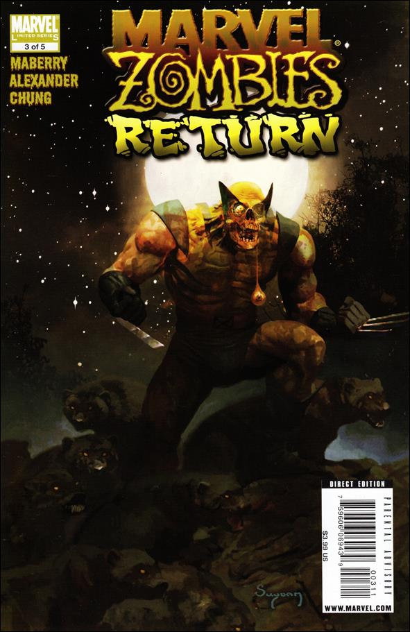 Marvel Zombies Return 3-A by Marvel