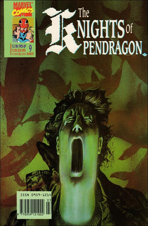 Knights of Pendragon (UK) (1990) 9-A by Marvel UK