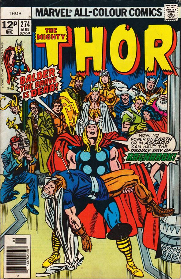 Thor (1966) 274-B by Marvel
