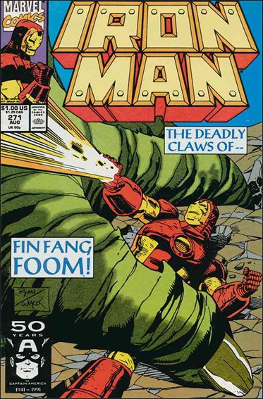 Iron Man (1968) 271-A by Marvel