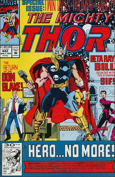 Thor (1966) 442-A by Marvel